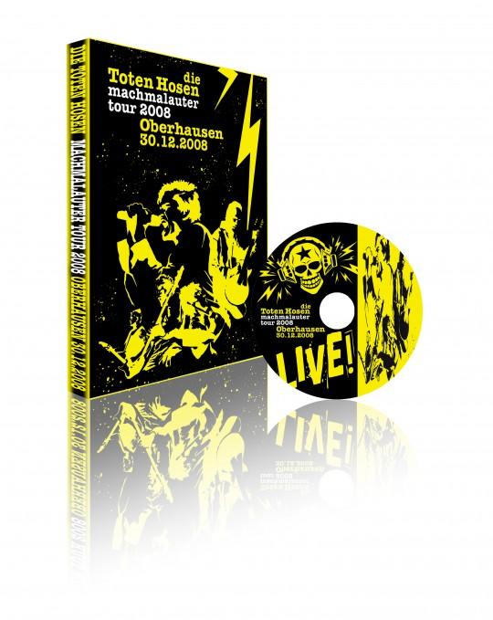 Fan-DVD: Die Toten Hosen - Live in Oberhausen 2008