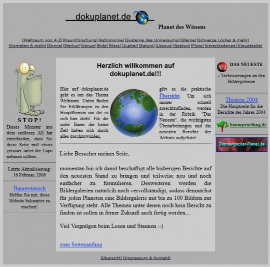 Webseite: dokuplanet.de