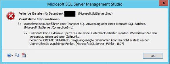 SQL-Fehler-1807