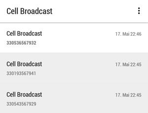 broadcast-nachrichtenverlauf
