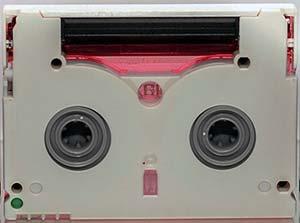 eine MiniDV-Kassette