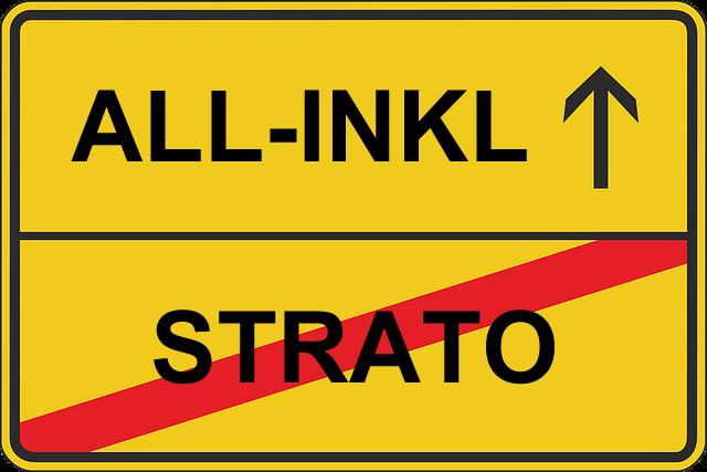 Strato Webspace